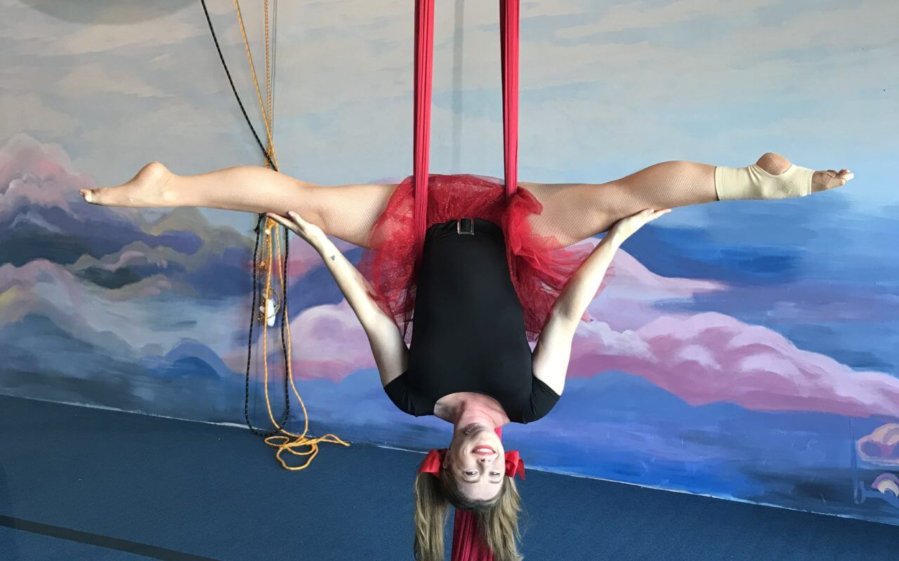 The 12 days of Christmas Aerial Challenge.