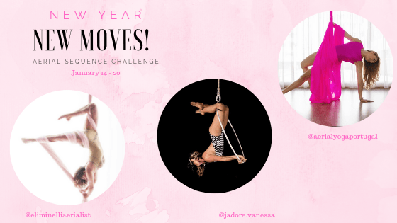 New Year New Aerial Hoop Moves 2019 Aerial Arts Challenge.