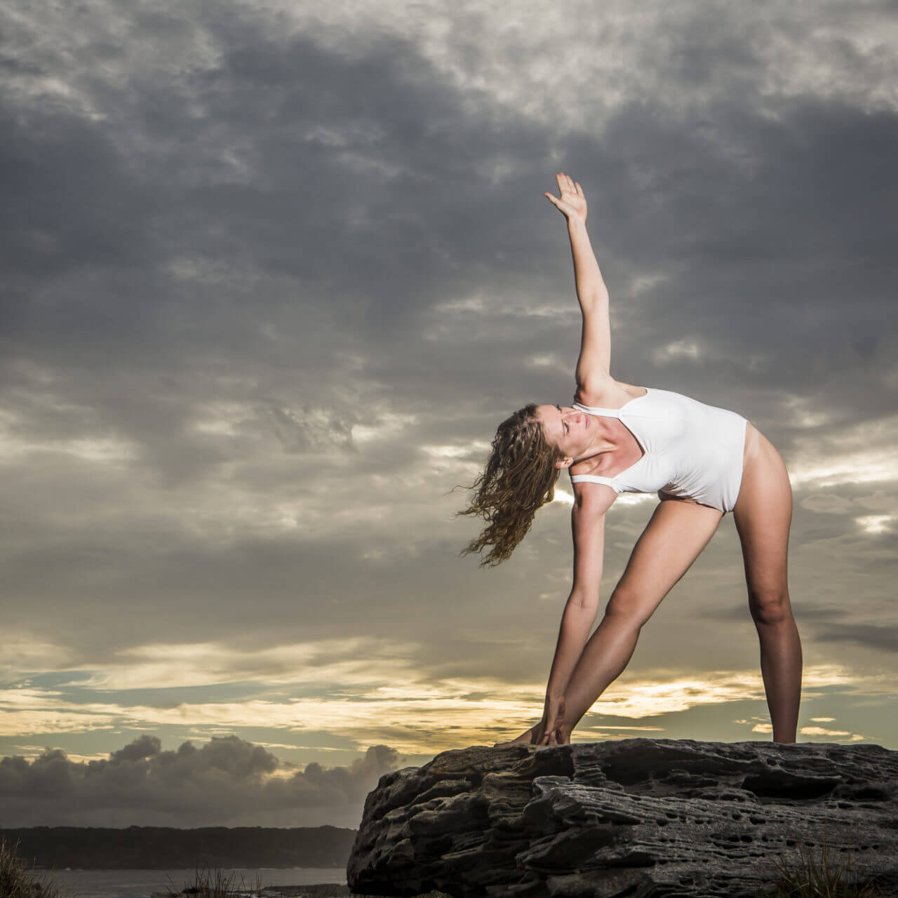 Trikonasana – Triangle Pose