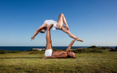 Acro yoga poses - An advanced beginner flow