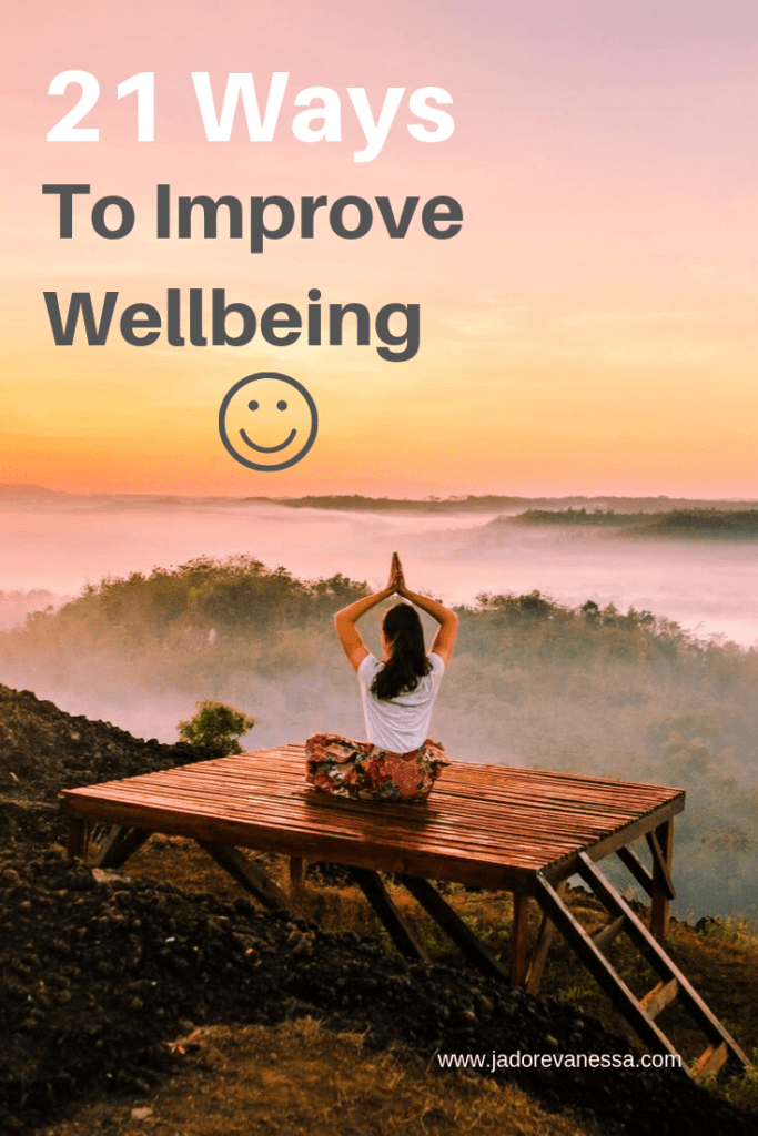 Improve Well Being