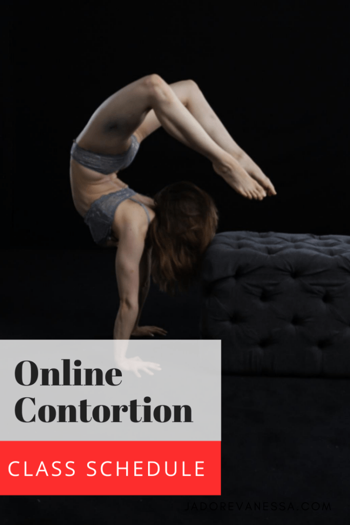 Online Contortion & Flexibility Classes